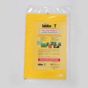 Yellow panel (κίτρινες χρωμοπαγίδες)