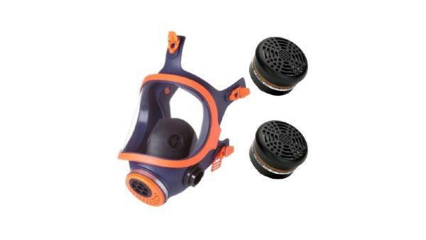 Μάσκα Προστασίας Ψεκασμού – Αερίων Ολόκληρου Προσώπου Climax με φίλτρα
