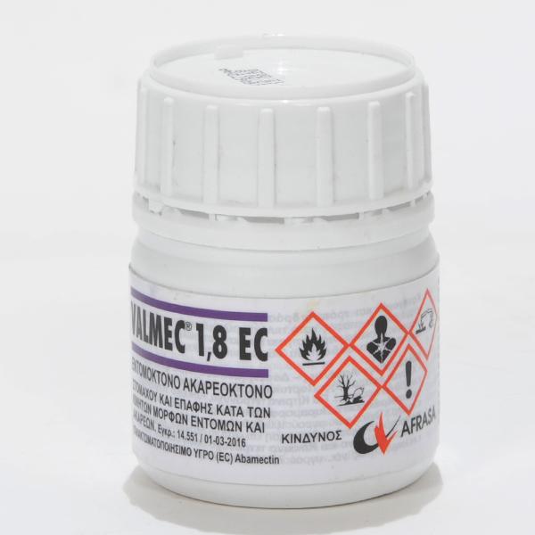 VALMEC 1,8 EC (abamectin aka avermectin1.8%)