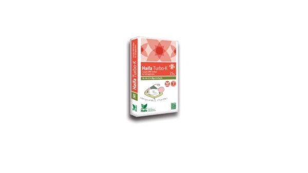 HAIFA TURBO-K 14-14-17+ Mg+S+Fe, Zn 25kg