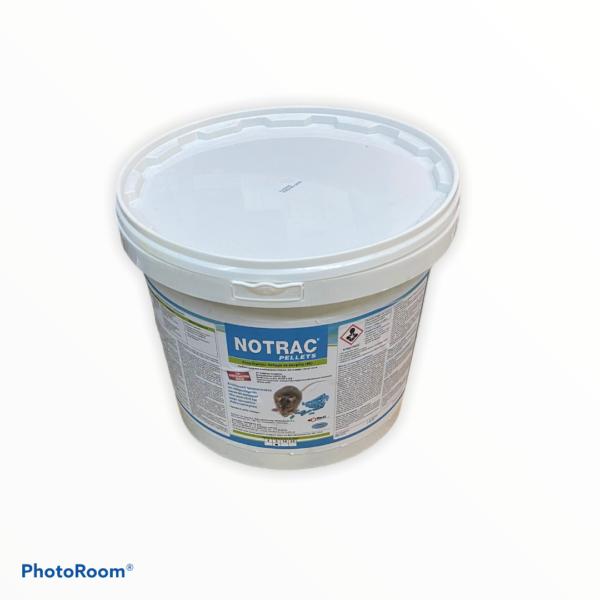 NOTRAC PELLETS (Ετοιμόχρηστο δόλωμα σε κουφέτο BB) 5kg