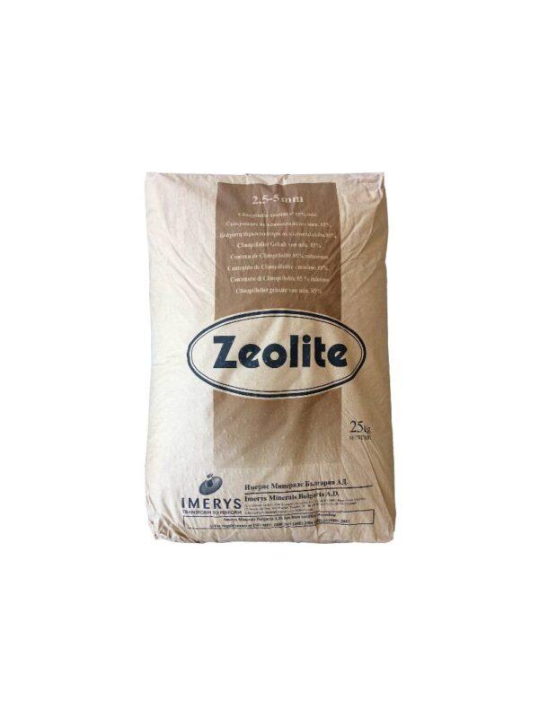 Ζεόλιθος από 2,5 έως 5 χιλιοστά – Xαλίκι, ιδανικό για ενσωμάτωση σε καλλιέργειες μεγάλης κλίμακας – 25 κιλά