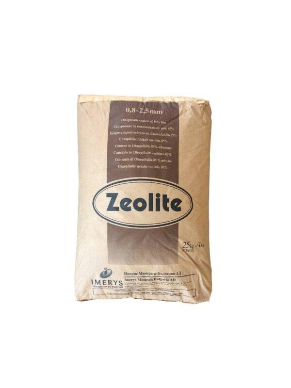 Ζεόλιθος από 0,8 έως 2,5 χιλιοστά – Λεπτό χαλίκι, ιδανικό για ενσωμάτωση σε καλλιέργειες μικρής κλίμακας – 25 κιλά