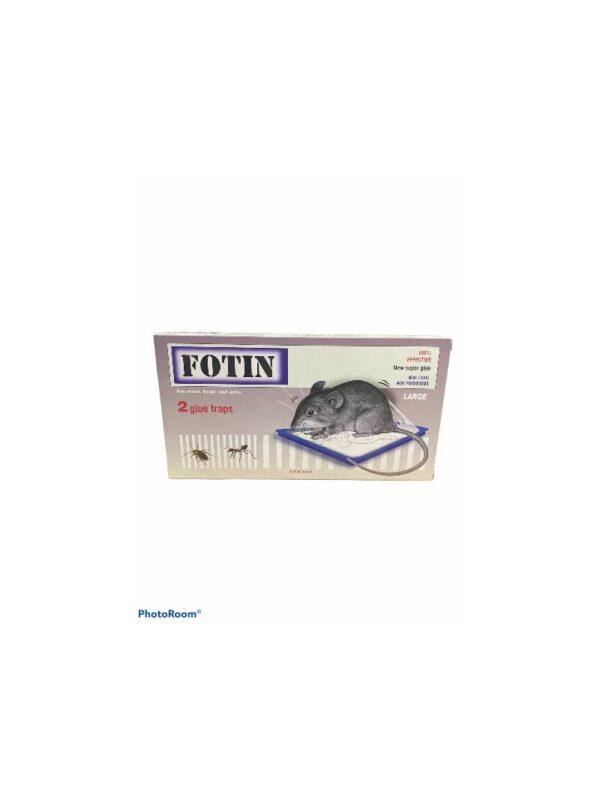 Fotin Παγίδες Κόλλας για Ποντικούς Σετ 2 τεμαχίων (large)